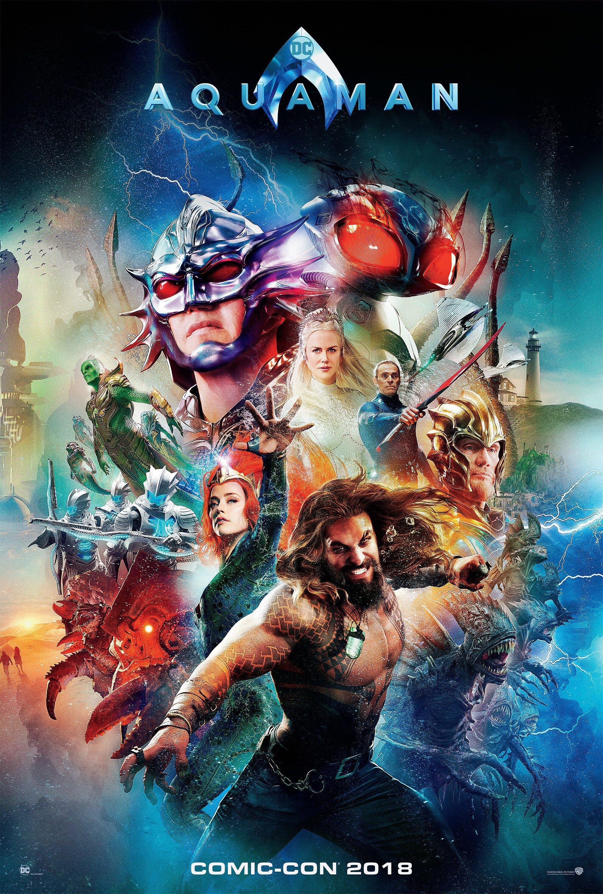 Aquaman (2018) Dual Audio HC-TSRip [Hindi-English] x264 850MB KSub
