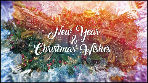 Christmas and New Year Wishes 23035677 - Project for After Effects (Videohive)