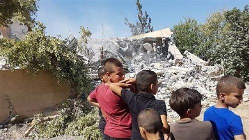 enfants demolition opt