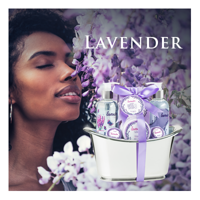 Bath Body and Spa Gift Sets in Relaxing Lavender Fragrance Perfect for Women