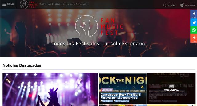 promocionar eventos en fanmusicfest