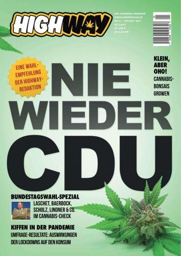 Cover: Highway Das Cannabismagazin No 05 September-Oktober 2021