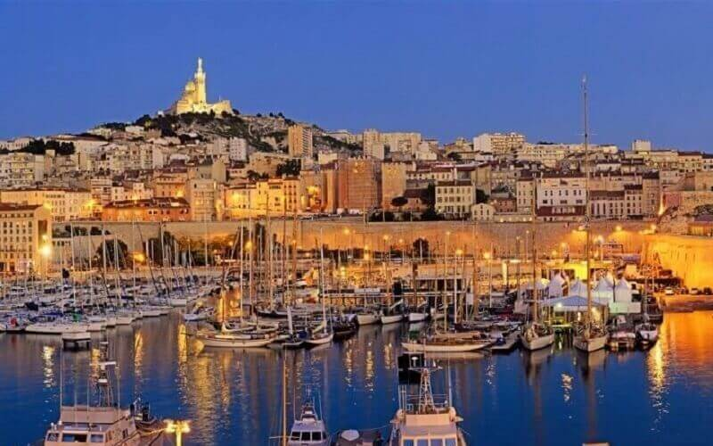 Marseille city photo