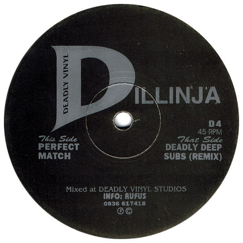 Download Dillinja - Deadly Deep Subs (Remix) / Perfect Match mp3