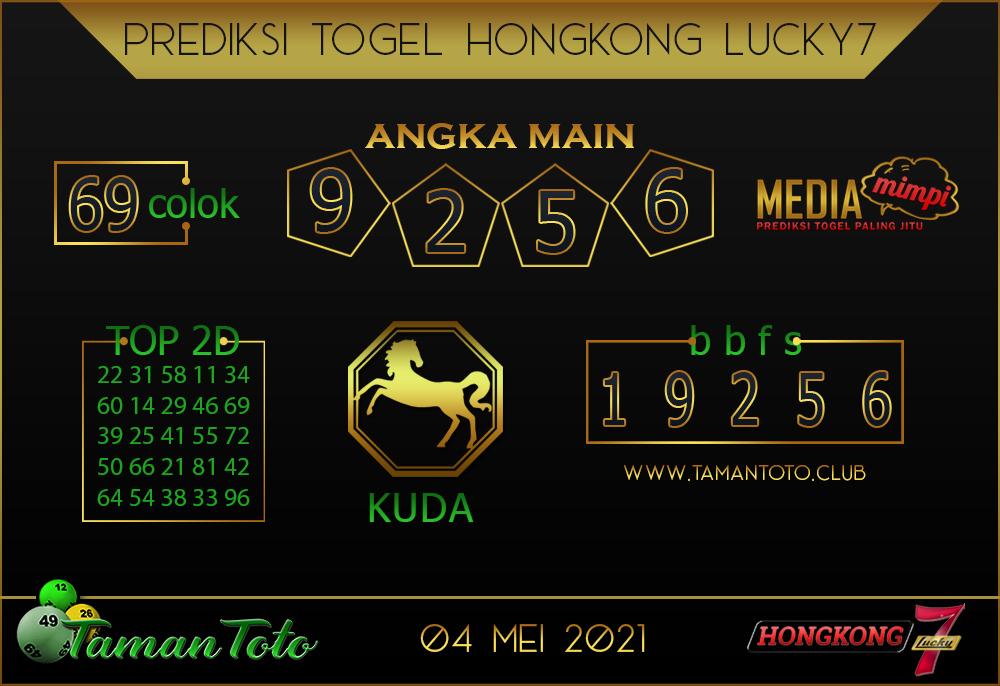 Prediksi Togel HONGKONG LUCKY 7 TAMAN TOTO 04 MEI 2021