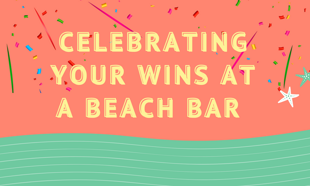 Celebrating-Your-Wins-at-a-Beach-Bar