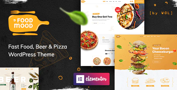 ThemeForest - Foodmood v1.0.3 - Cafe & Delivery WordPress Theme - 24702614 - NULLED