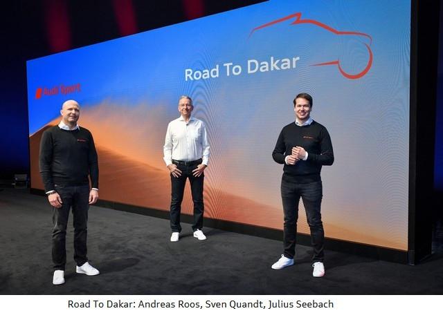 En route pour le Dakar : Audi électrifie le désert A211624medium