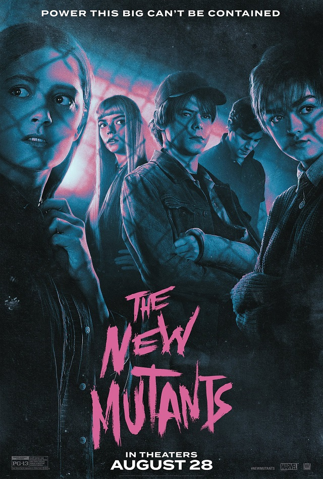 "THE NEW MUTANTS ""Special Look"" And Posters Released After Tickets For The  Movie Finally Go On Sale"