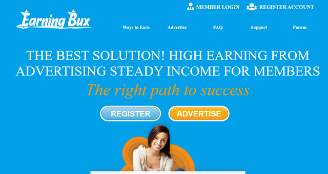 Earningbux.com Review Scam or Paying PTC Site?