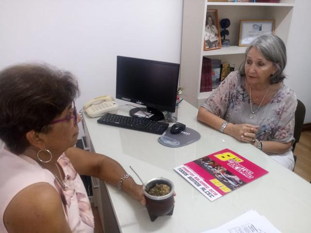 Locales: Gilbert: Reuni�n con ALCEC