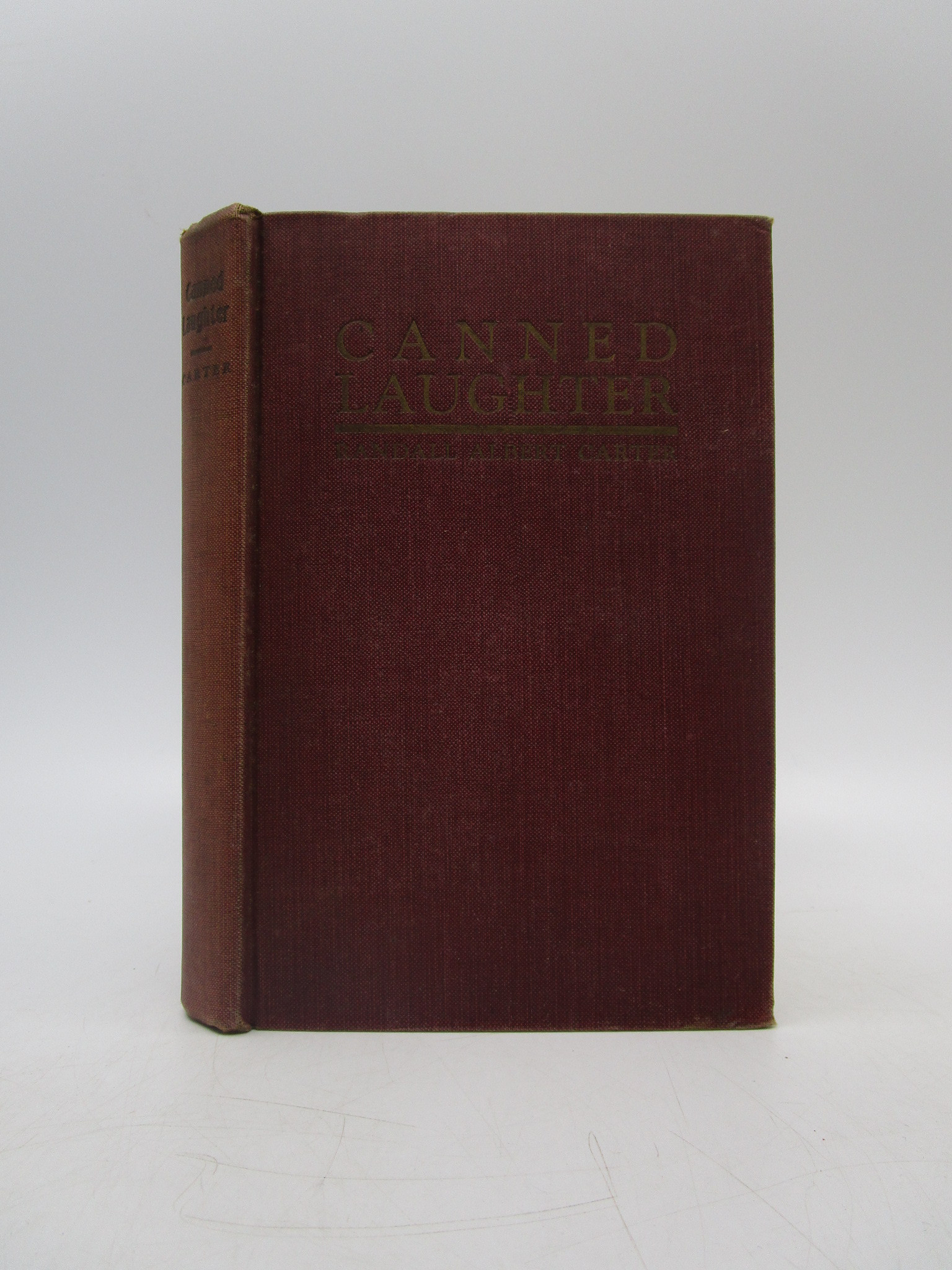 Image for Canned Laughter (First Edition)
