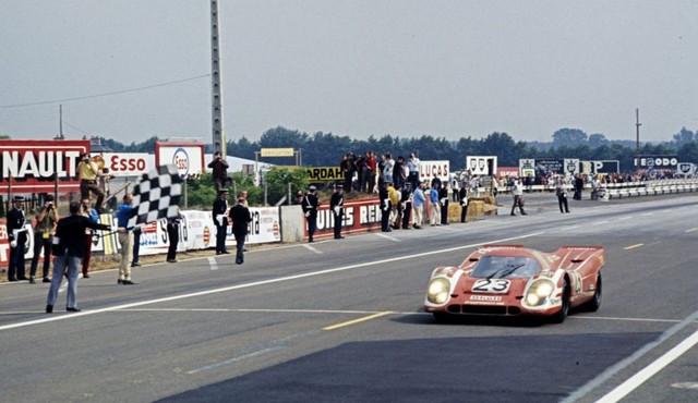 Il y a 50 ans, Porsche a remporté sa première victoire au classement général au 24 Heures du Mans B-HDI-44342
