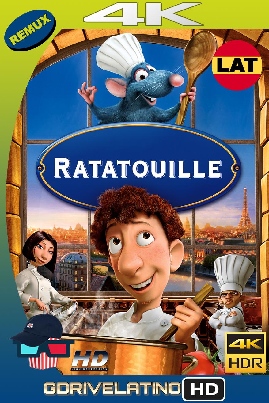 Ratatouille (2007) REMUX 4K HDR Latino-Ingles MKV