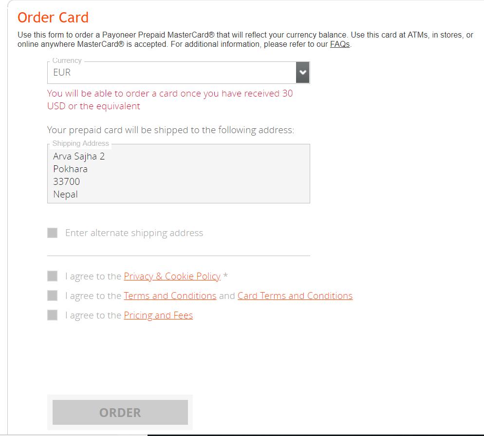 payoneer inscription,Comment s'inscrire à Payoneer et obtenir une Mastercard gratuitement