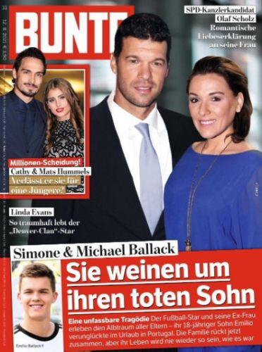 Cover: Bunte Magazin No 33 vom 12  August 2021