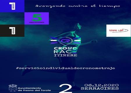 La prueba del Circuito CronoRACE Itinere que se iba a organizar en Cobeña el 6 de Diciembre, se traslada a Serracines