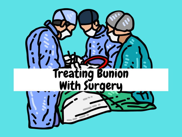 Treating-Bunion-With-Surgery