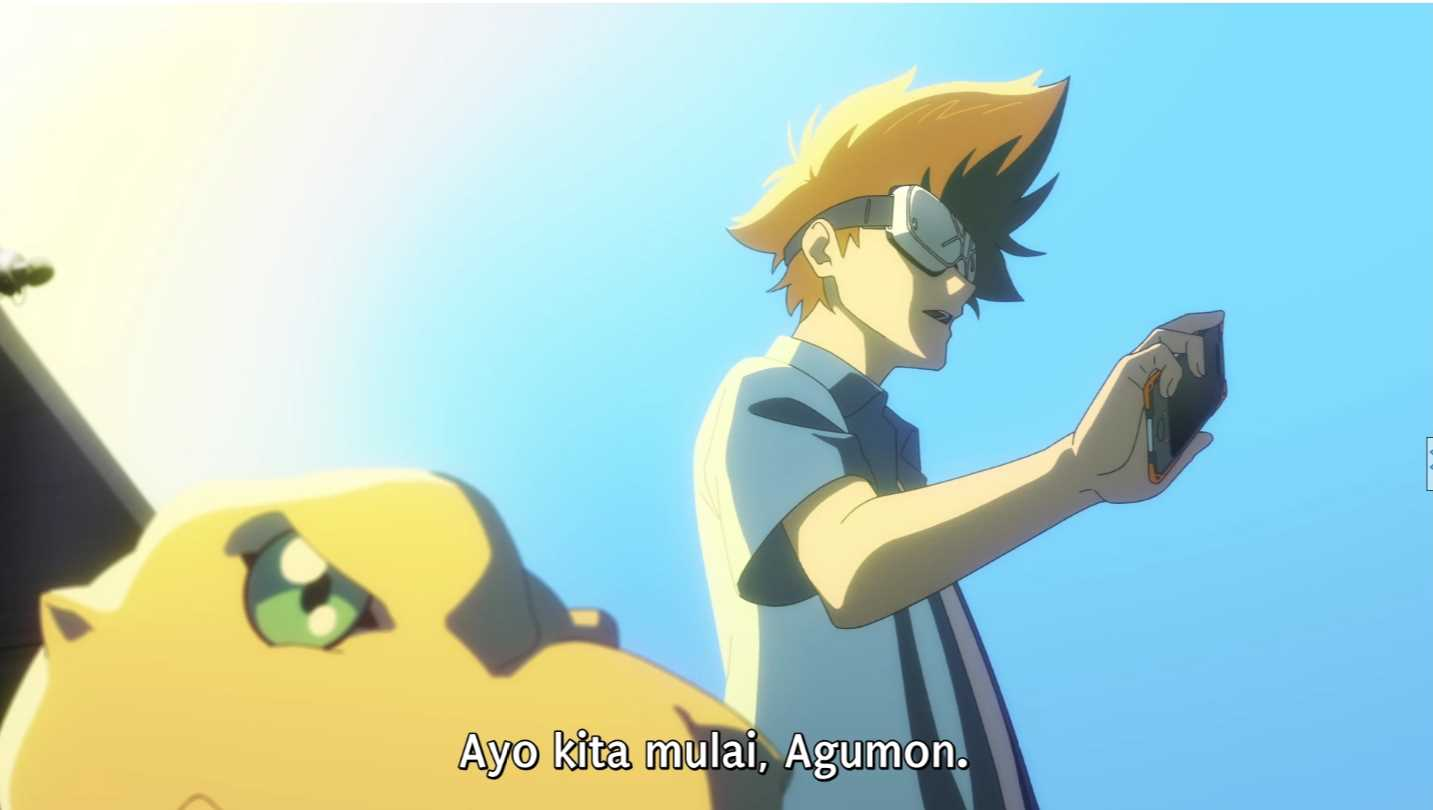 Digimon Adventure Movie: Last Evolution Kizuna BD Subtitle Indonesia