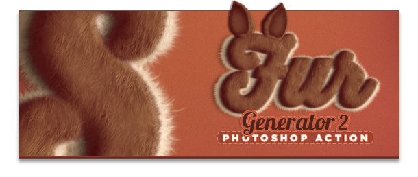 Fur Generator 2 Photoshop Action Text Effect