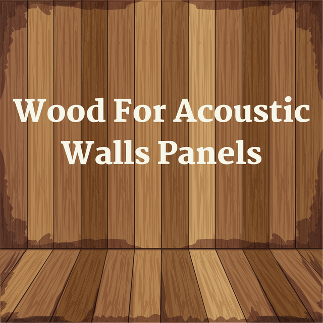 Wood-For-Acoustic-Walls-Panels