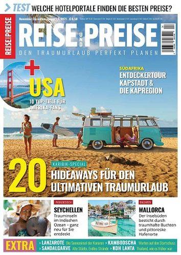 Cover: Reise und Preise Magazin November-Januar No 04 2021