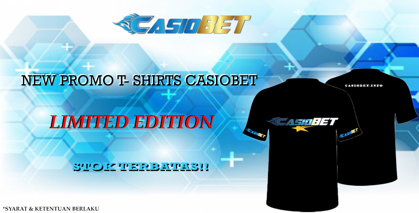 T-SHIRT CASIOBET LIMITED EDITION