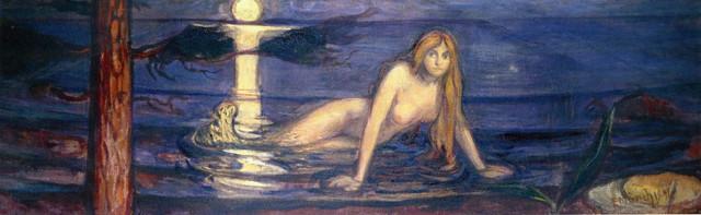 Edvard-Munch-the-mermaid
