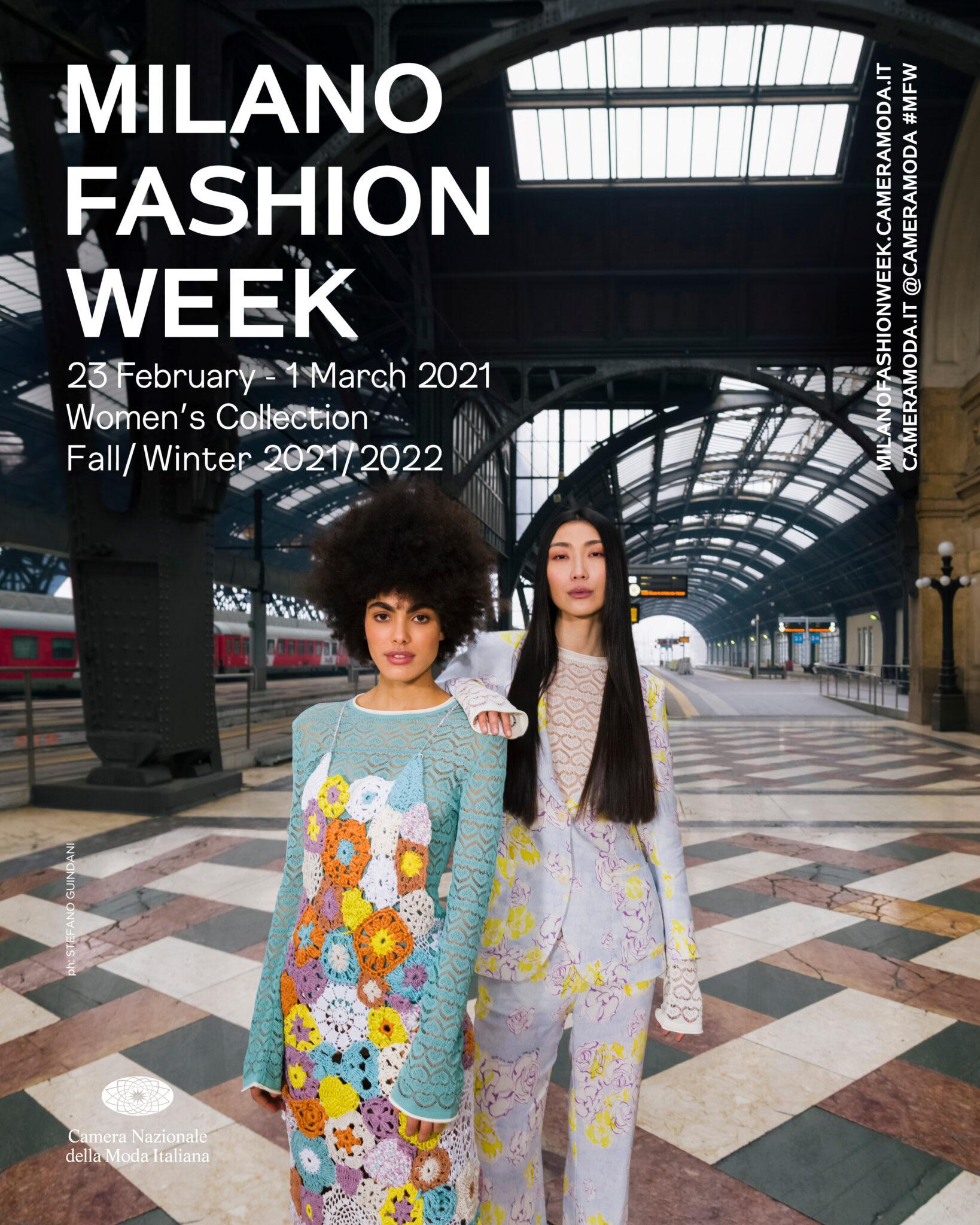 Milano Moda Donna 2021 calendario tutto digital - Wondernet Magazine