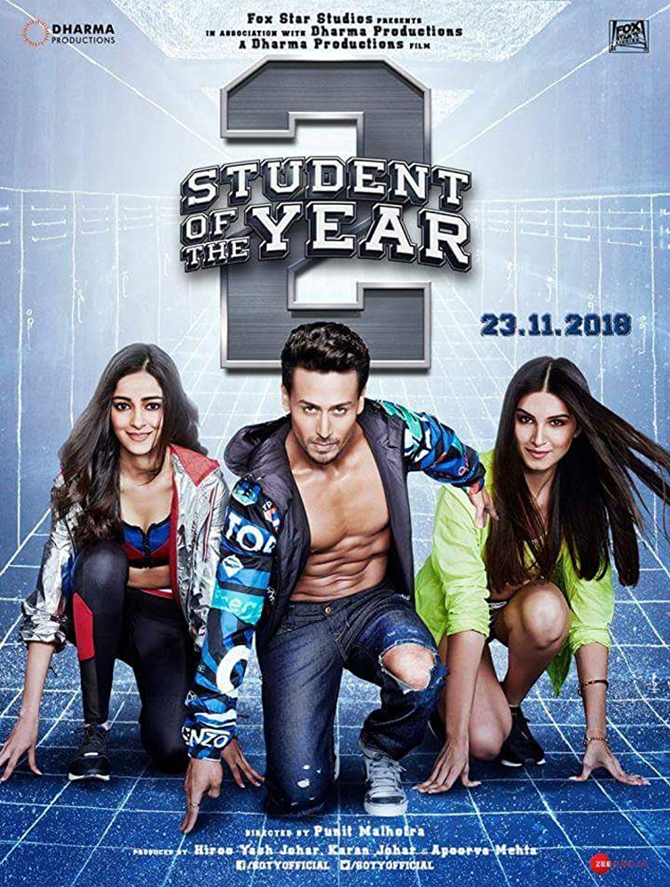 Student of the Year 2 (2019) PreDVD Rip 720p