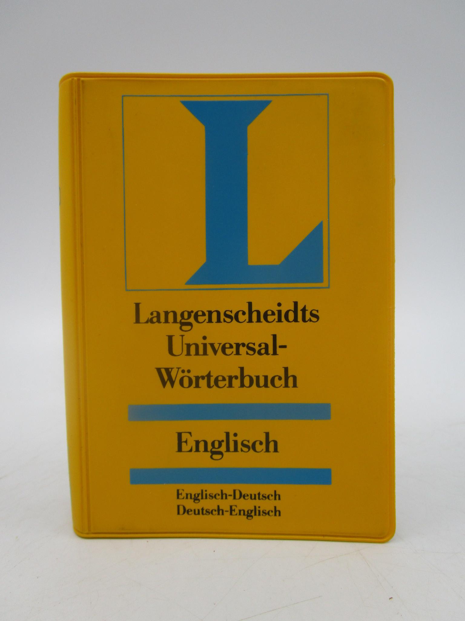 Image for Langenscheidts Universal-Wrterbuch Englisch. Englisch-Deutsch, Deutsch-Englisch