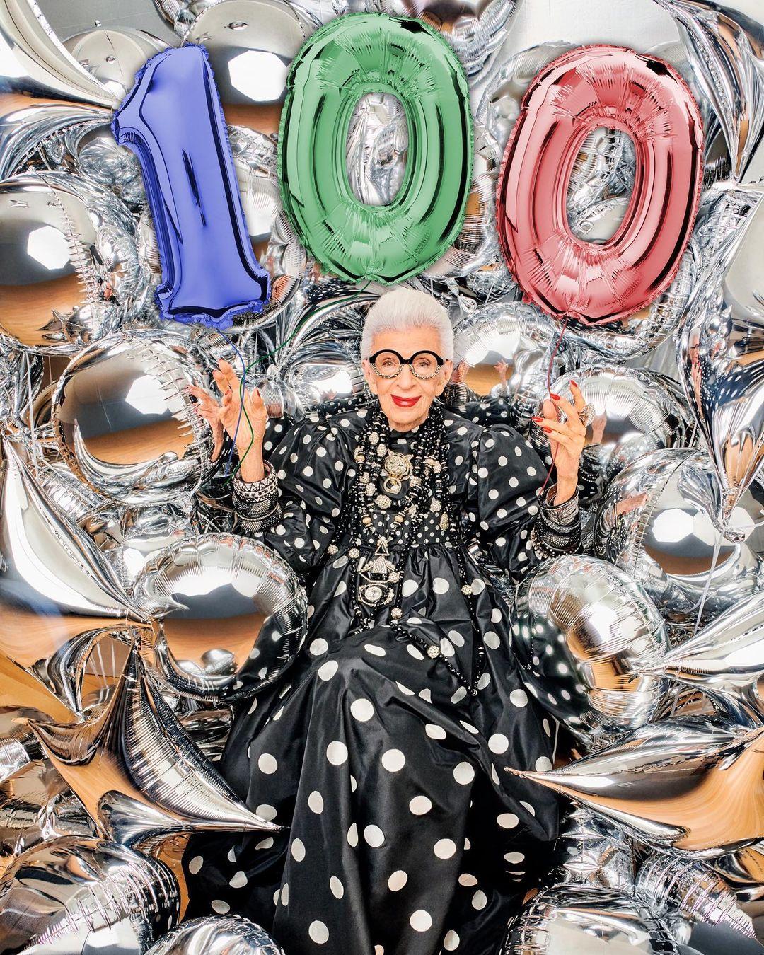 Iris Apfel X H&M: capsule collection per i 100 anni