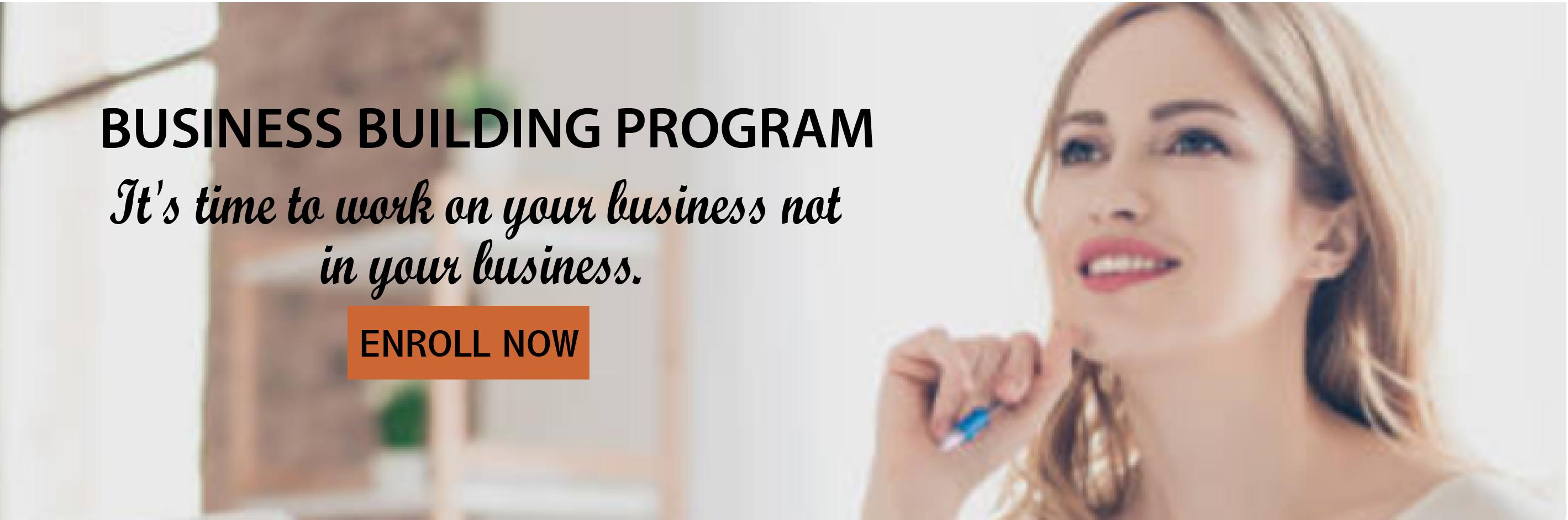 Business Building Program Growth