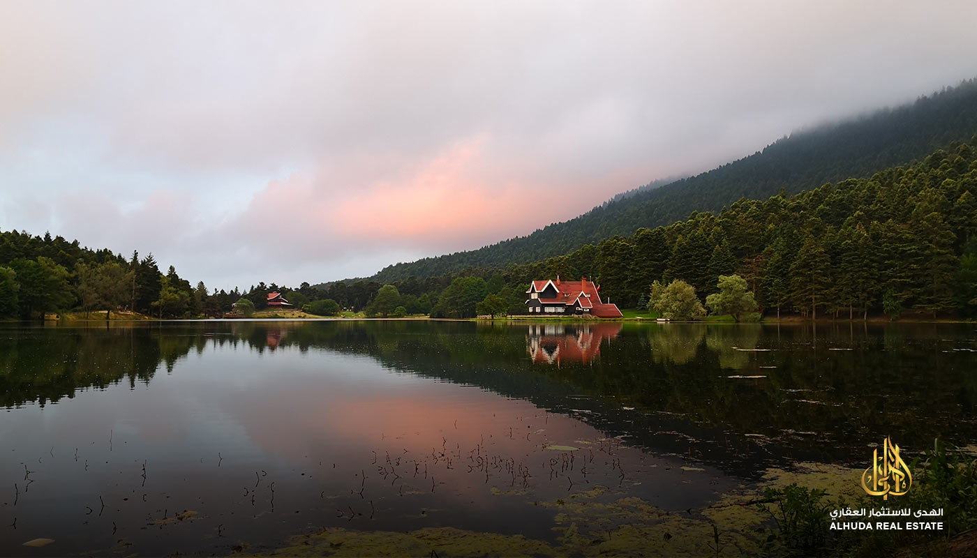 amazing lake view in Bolu
