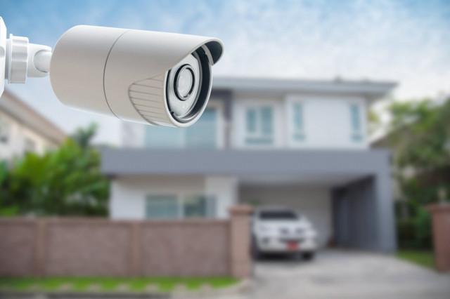 камера видеонаблюдения далеко от дома