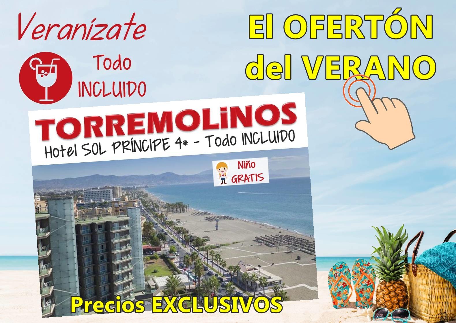 Chollo del verano con Viajes MundiPlayas en Hotel SOL PRÍNCIPE 4*