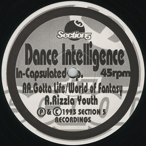 Dance Intelligence - In-Capsulated E.P. 1993