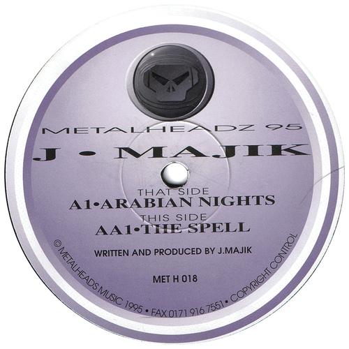 J Majik - Arabian Nights / The Spell