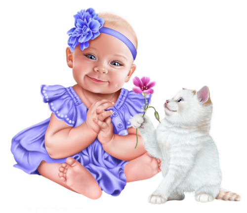 baby-with-a-kitten-png13.png
