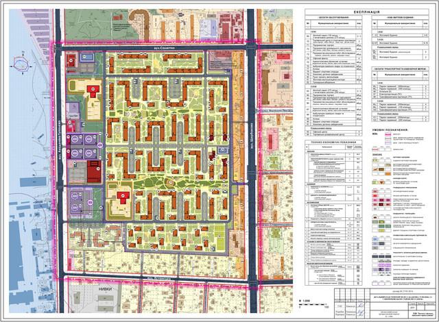 ДПТ Нивки на Туполева проектный план