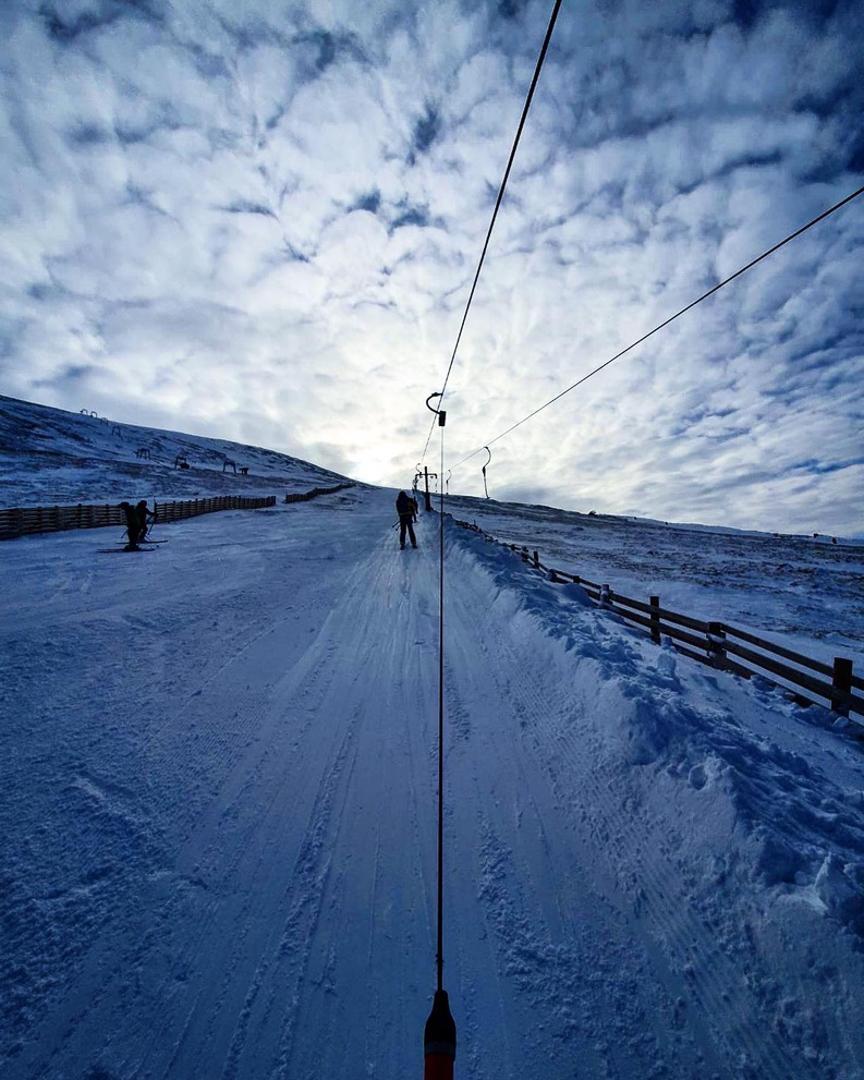 Skiing Scottish Vacation
