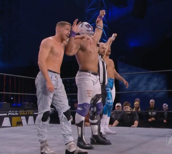 Cody Rhodes Orange Cassidy y 10 vencieron a Brian Cage Ricky Starks, Powerhouse Hobbs y Taz
