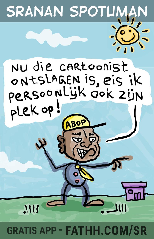 Sranan Spotuman : Cartoonist