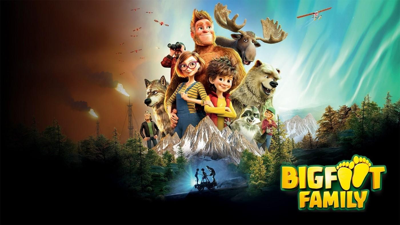 დიდფეხას ოჯახი Bigfoot Family