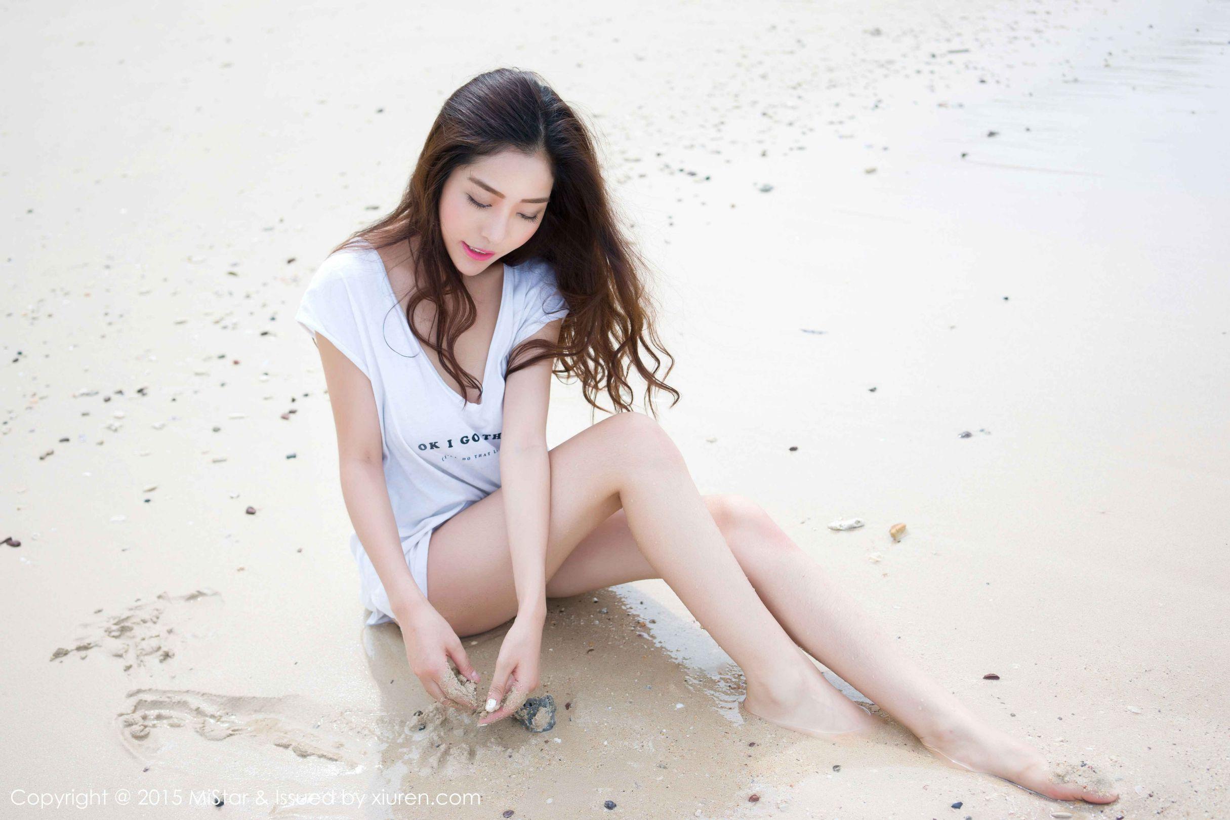 [MiStar魅妍社] VOL.047 陈欣 - 海边+街拍写真套图