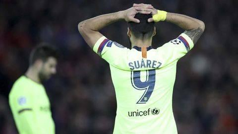 Luis Suarez Tak Bisa Main Lagi untuk Barcelona