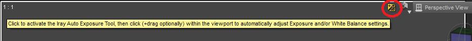 Auto Exposure Tool