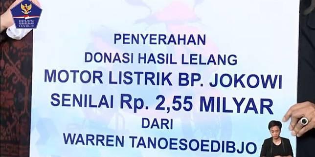 Lika-liku Lelang Motor Listrik Jokowi, Dimenangkan Buruh Bangunan, Berakhir di Tangan Putra Hary Tanoe