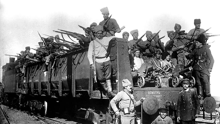 The Civil War in Russia
