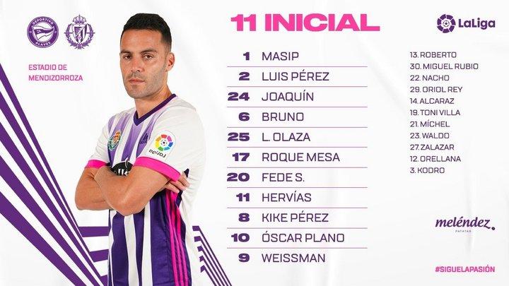 Deportivo Alavés - Real Valladolid C.F. Viernes 5 de Febrero. 21:00 - Página 2 Once-Alaves